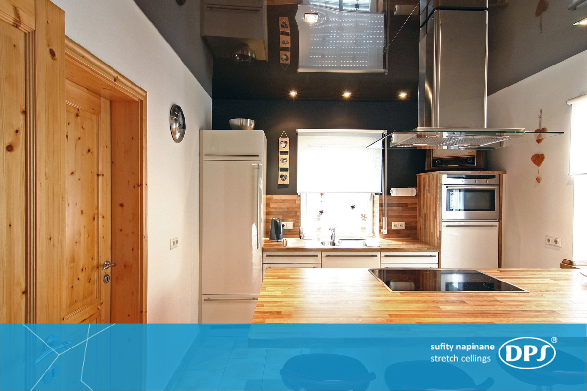 Stretch ceilings: reviews. The kitchen has special requirements